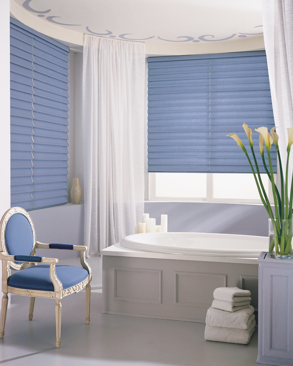 Hunter douglas window treatments blinds shades drapery mountain top pa - Best blind for bathroom ...
