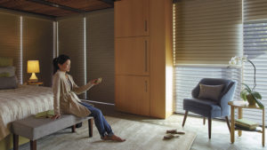 Nantucket™ Window Shadings with PowerView™ Motorization